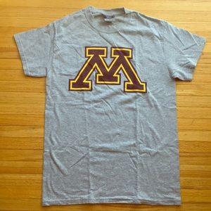 Grey University of Minnesota T-Shirt